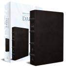 RVR 1960 Biblia de estudio Dake, tamaño grande, piel negra / Spanish RVR 1960 Dake Study Bible, Large Size, Black Leather Cover Image
