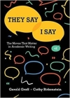 They Say / I Say: The Moves That Matter in Academic Writing Cover Image