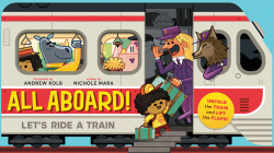 All Aboard!: Let's Ride a Train Cover Image