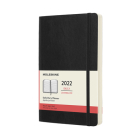 Moleskine 2022  Daily Planner, 12M, Large, Black, Soft Cover (5 x 8.25) Cover Image