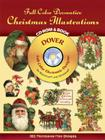 Full-Color Decorative Christmas Illustrations CD-ROM and Book (Dover Full-Color Electronic Design) Cover Image