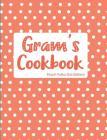 Gram's Cookbook Peach Polka Dot Edition Cover Image