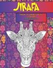 Libros de colorear para adultos - Animal - Bosque encantado - Jirafa Cover Image