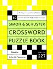 Simon and Schuster Crossword Puzzle Book #227 Cover Image
