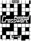 Crossword Puzzles For Adults, Volume 6: Medium To High-Level Puzzles That Entertain and Challenge Cover Image