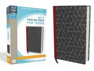 NIV, Thinline Bible for Teens, Hardcover, Black, Red Letter Edition Cover Image