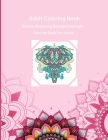 Animals Mandala: Coloring Book For Adults Cover Image