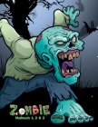 Zombie Malbuch 1, 2 & 3 Cover Image
