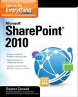 How to Do Everything Microsoft SharePoint 2010 Cover Image