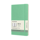 Moleskine 2021-2022 Weekly Planner, 18M, Large, Ice Green, Soft Cover (5 x 8.25) Cover Image