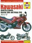Kawasaki EN450, 500 Twins & Ninja 250, 1985-2007 (Motorcycle Repair Manual) Cover Image