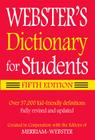 Webster's Dictionary for Students Cover Image