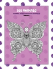 Mandala Coloring Books for Adults Beginners - 100 Animals Cover Image