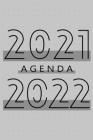 Agenda 2021 - 2022: Agenda pour 104 Semaines, Calendrier de 24 Mois, Livre Hebdomadaire pour les Activités et les Rendez-vous, Livre Blanc Cover Image