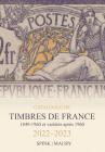 Catalogue de Timbres de France 2022-2023 Cover Image