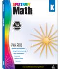 Spectrum Math Workbook, Grade K Cover Image