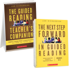 The Next Step Forward in Guided Reading book + The Guided Reading Teacher's Companion Cover Image