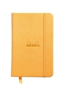 Rhodia Webbie Hardcover Dot Grid 3 1/2 X 5 1/2 A6 Orange Cover Notebook Cover Image