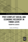 Post-Conflict Social and Economic Recovery in Timor-Leste: Redemptive Legacies (Modern Anthropology of Southeast Asia) Cover Image
