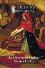 Holinshed's Chronicles: The Historie of England, Bookes I-IV Cover Image