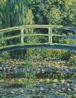 Water Lilies and Japanese Bridge Claude Monet: Sketchbook with Several Pages Having Quotes from Claude Monet Cover Image