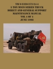 TM 9-2320-272-24-4 5 Ton M939 Series Truck Direct and General Support Maintenance Manual Vol 4 of 4 June 1998 Cover Image