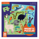 Land & Sea Animals Magnetic Puzzle Cover Image