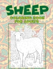 Sheep - Coloring Book for adults Cover Image