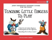 Teaching Little Fingers to Play - Book/Audio: Book/Audio Cover Image