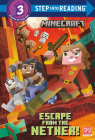 Escape from the Nether! (Minecraft) (Step into Reading) Cover Image