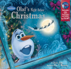 Frozen Olaf's Night Before Christmas Book & CD Cover Image