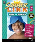 Math Plus Reading Workbook: Summer Before Grade 5 (Summer Link) Cover Image