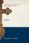 Acts (Baker Exegetical Commentary on the New Testament) Cover Image