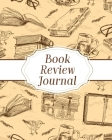 Book Review Journal: Reading Log Gifts for Book Lovers Bookworm Cover Image