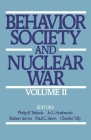 Behavior, Society, and Nuclear War: Volume II Cover Image