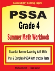 PSSA Grade 4 Summer Math Workbook: Essential Summer Learning Math Skills plus Two Complete PSSA Math Practice Tests Cover Image