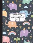 Primary Composition Book: Primary Composition Notebook K-2, Kindergarten Composition Book, Elephant Notebook For Girls, Handwriting Notebook (To Cover Image