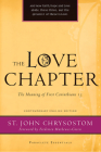 The Love Chapter: The Meaning of First Corinthians 13 Cover Image