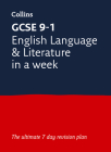 Letts GCSE 9-1 Revision Success – GCSE 9-1 English In a Week Cover Image