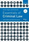 Smith, Hogan, & Ormerod's Essentials of Criminal Law Cover Image