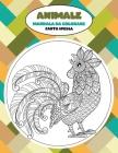 Mandala da colorare - Carta spessa - Animale Cover Image