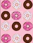 Donut Enthusiast Composition Notebook: wide ruled, 7.44