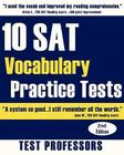 10 SAT Vocabulary Practice Tests Cover Image