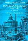 Piano Concertos Nos. 11-16 in Full Score Cover Image