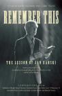 Remember This: The Lesson of Jan Karski Cover Image