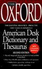 The Oxford Desk Dictionary and Thesaurus Cover Image