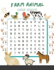 Farm Animal Word Search: Farm Life and Animals Word Search Puzzles for Adults Cover Image