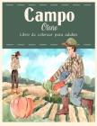 Campo Otoño Libro de Colorear: Hermosos animales de granja y relajantes paisajes rurales, un libro de colorear para adultos con hermosas escenas otoñ Cover Image