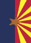 Arizona Flag Watercolor Sketch Journal Cover Image