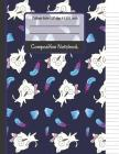 Composition Notebook: Cute Kittens, Diamonds & Feather College Ruled Notebook for Writing Notes... for Girls, Kids, School, Students and Tea Cover Image